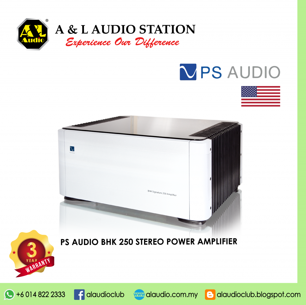 PS AUDIO BHK 250 STEREO POWER AMPLIFIER-01